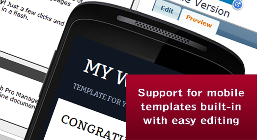 Mobile Templates